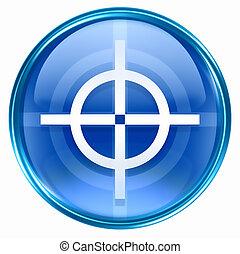 target icon blue