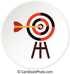 Target icon circle