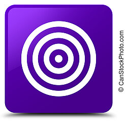 Target icon purple square button
