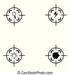 target icon set