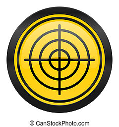target icon, yellow logo,