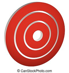 Target mark (bullseye) / Concentric circles, rings icon