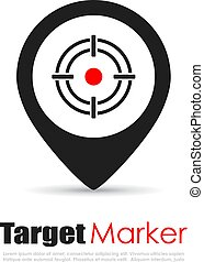 Target marker logo