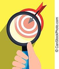 Target market graphic design