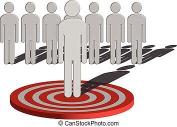 Target Marketing - A conceptual illustration of Target...
