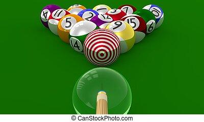 TARGET Pool - 8 Ball as Goal