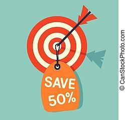 Target sale