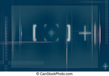Target Screen - Abstract Background