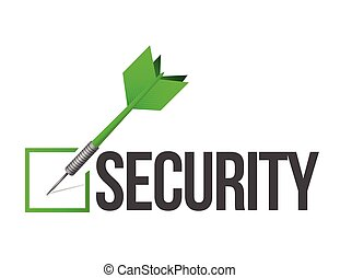 target security illustration design