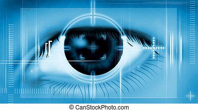 Target, Eye Scan - Rendered
