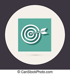 target. - target sign