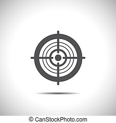 target vector icon