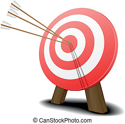 target with arrows