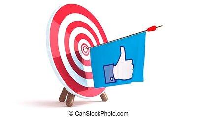 target with develops like sign loop video