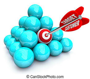 Targeted Customer in Marketing Pyramid - Targeted marketing...