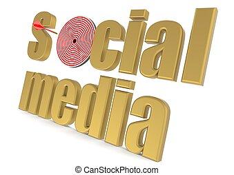 Targeted social media