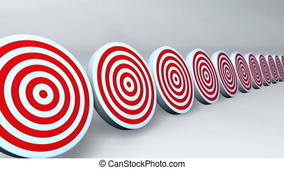 Many arrows hit to the targets. That is the meaning of success.