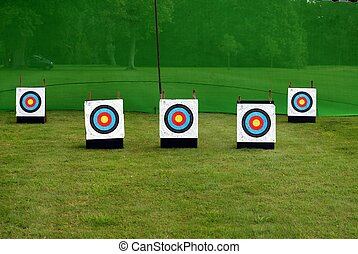targets. archery. game. sport