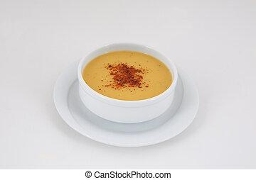 tarhana, zupa, soczewica