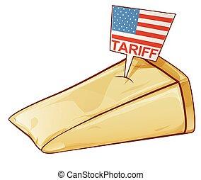 tariffs, trafficare, europa, stati, protectionist, parmesan, unito