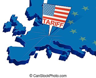tariffs, trafficare, europa, stati, protectionist, unito