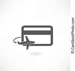tarjeta bancaria, icono