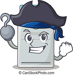 tarjeta clave, sombrero, estilo, divertido, caricatura,...