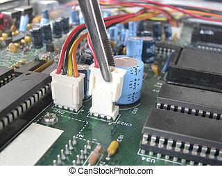 tarjeta de circuito impreso
