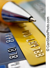 tarjeta de crédito, plano de fondo