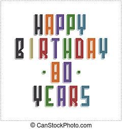 tarjeta de felicitación, feliz cumpleaños