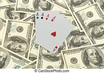 tarjetas, 100 dólar