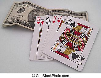 tarjetas, dinero