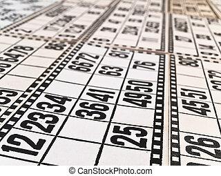 tarjetas, lotería