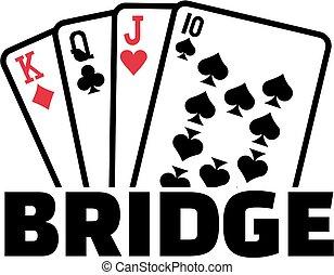 tarjetas, puente