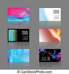 tarjetas, surtido, empresa / negocio