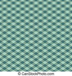tarkán szőtt pamutszövet, patern, alatt, zöld