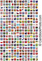 tarka, zászlók