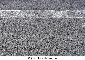 Tarmac asphalt surface for street pavement