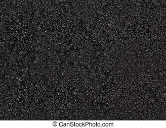 tarmacadam, albo, asfalt, tło