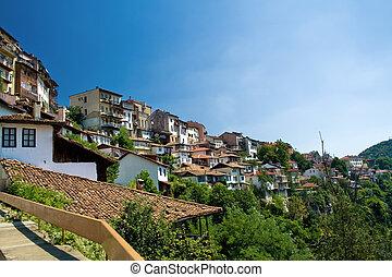 tarnovo, vista, veliko, bulgaria