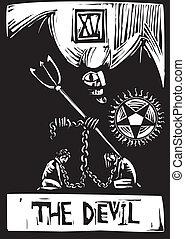 tarocco, diavolo, scheda