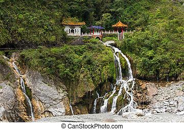 Taroko national park scenery