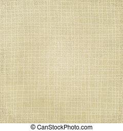 tartán, beige, patrón, ondas