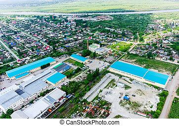 tartózkodási, ipari, district., tyumen.russia