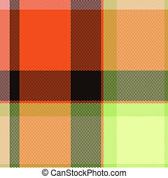 Tartan Abstract Print Pattern