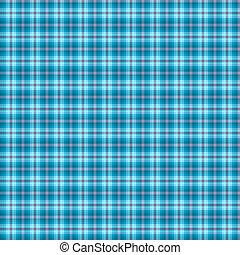 tartan, bleu, résumé, seamless, modèle