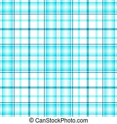 tartan, bleu, seamless, modèle