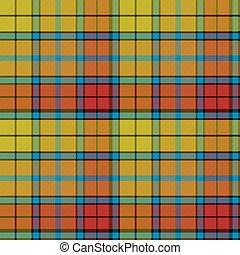 tartan buchanan seamless pattern vector illustration