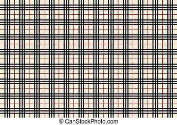 Tartan Pattern Sheet