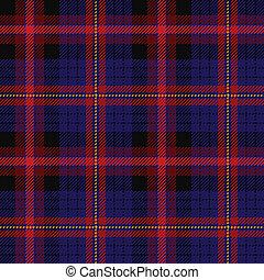 Tartan, plaid pattern
